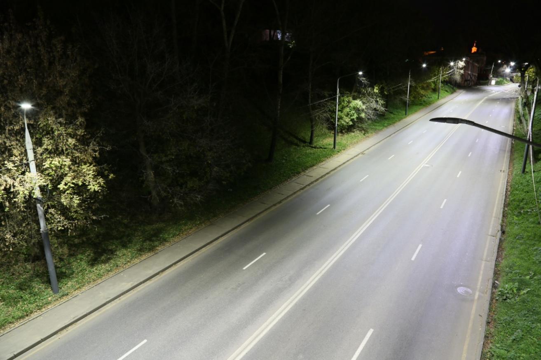 Освещение дорог в Курской области